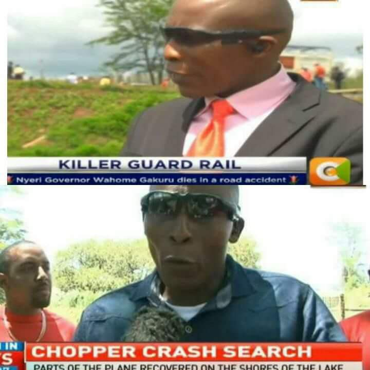 A mysterious man who has always been found at the scene of horrific incidents in the recent days has puzzled kenyans,but who really is he?