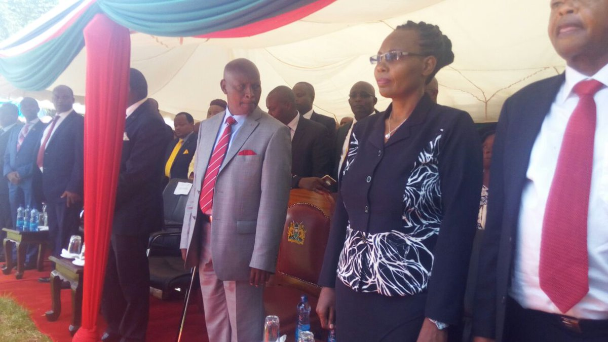 Mutahi Kahiga takes over the mantle  as Nyeri governor promising to fulfill his predecessor's dreams