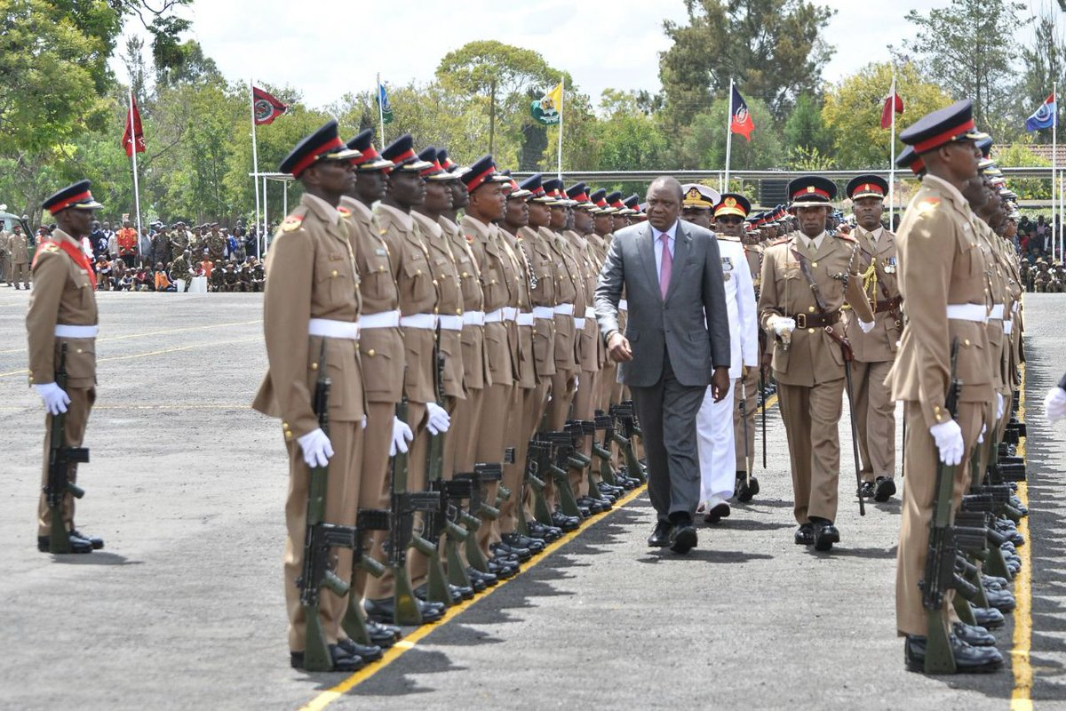 Terrorists will be dealt with without favor or fear,warns president Kenyatta