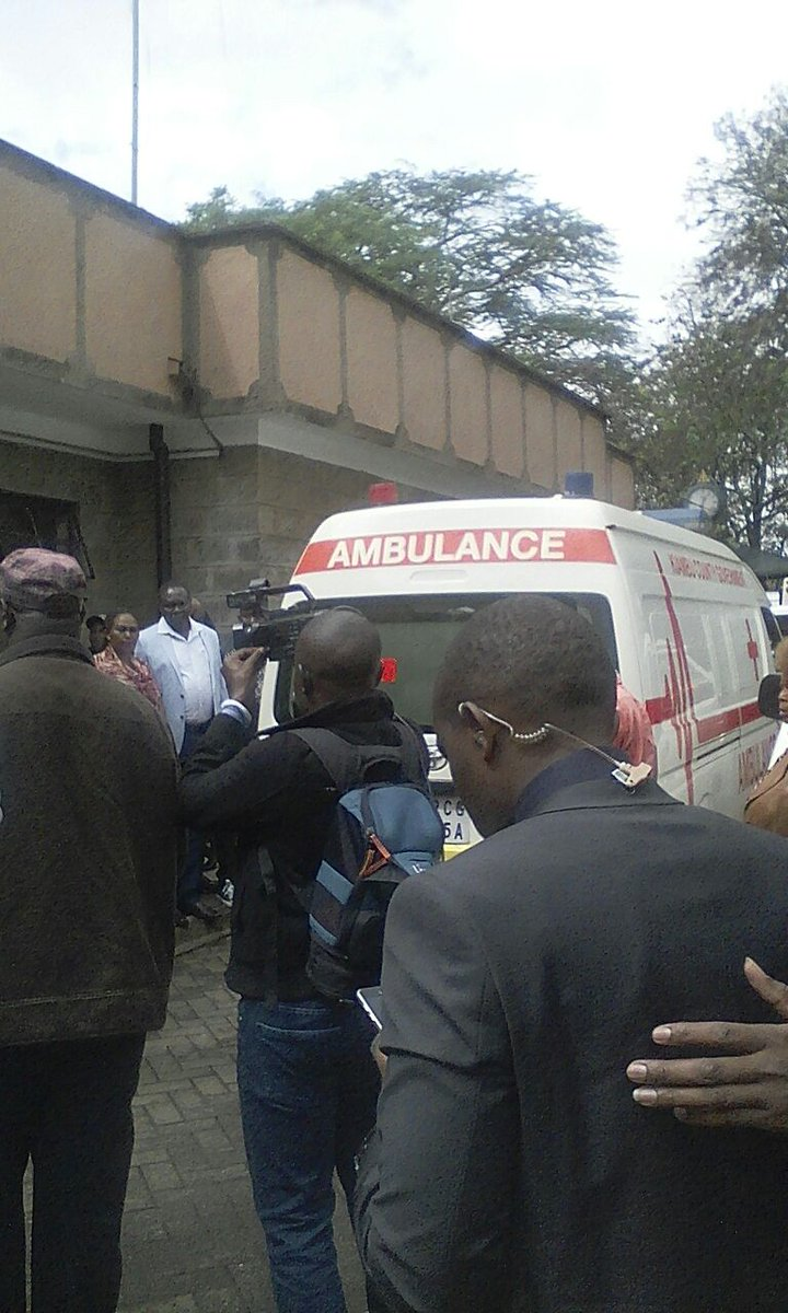 Body of the late Nyeri governor Wahome Gakuru moved to lee funeral home as condolences massages pour in