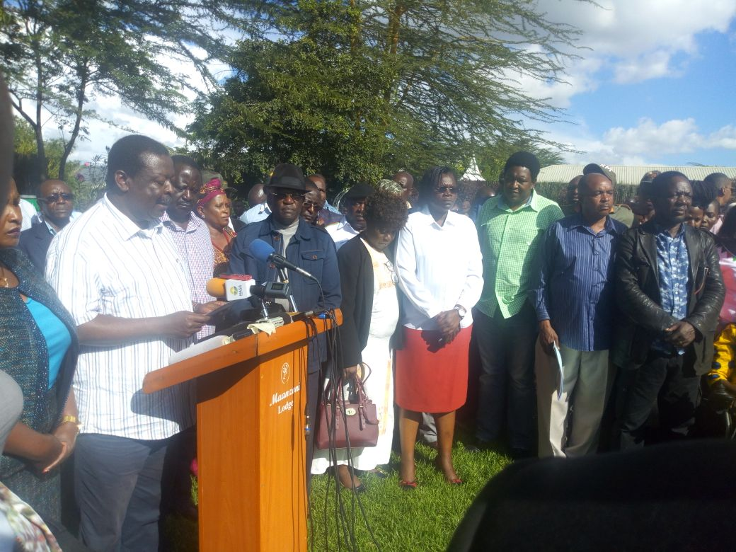 These are our options in dealing with Jubilee administration,says NASA as it unveils    plan going forward