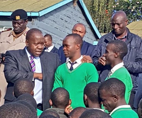 KCSE exams kicks off in over 9000 centres across the country amid heightened security