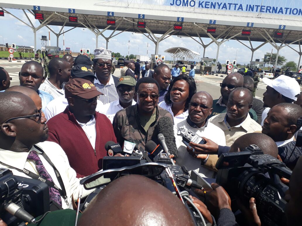 NASA moves rally to Kibra after police rule that  Kamukunji grounds is out of bounce