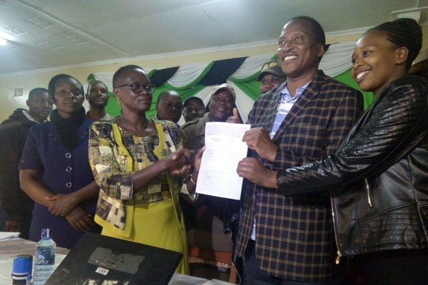 Onyonka retains his seat in Kitutu Chache South By Elections