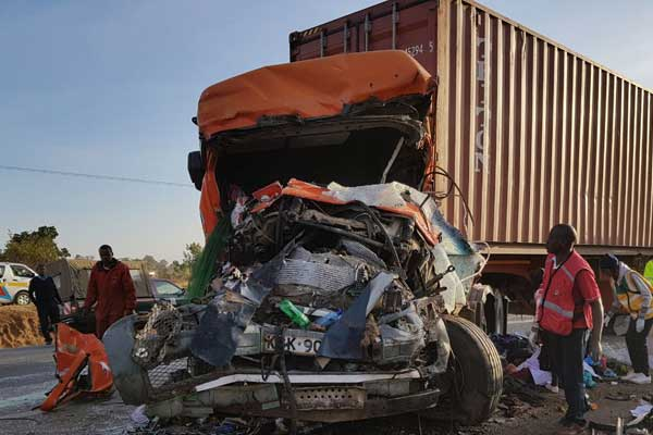 The number of people who  perished  in a grisly road accident at Migaa along the Nakuru-Eldoret highway rises to 38