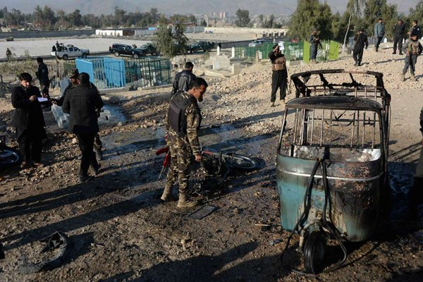 18 dead in bomb attack at Afghan funeral: officials