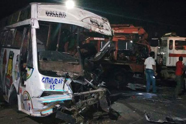 An accident involving a Githurai bus in Kericho leaves three dead