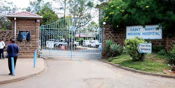 Drama at St Mary's mission hospital in Langata as management is forcefully evicted