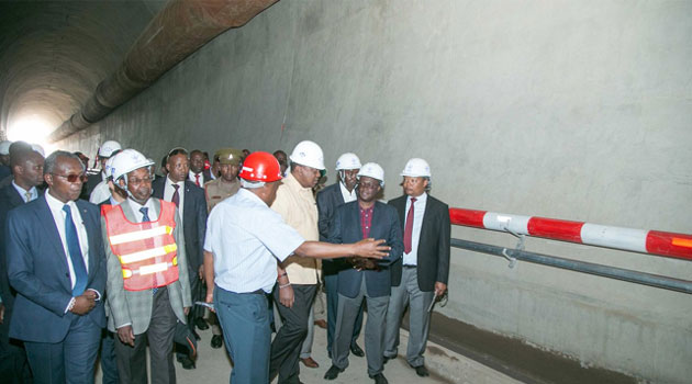 President Kenyatta  says he was  satisfied  with progress of second phase of SGR