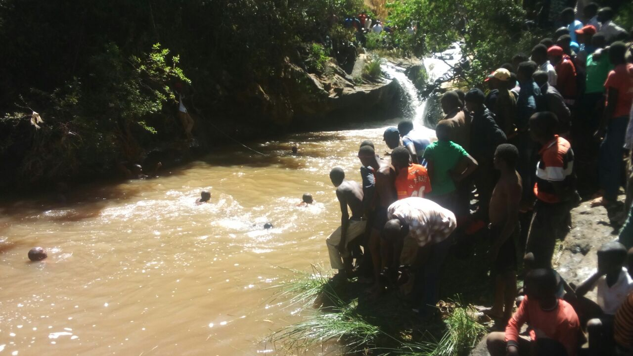 Tragic:Man drowns  in Molo River while taking selfie