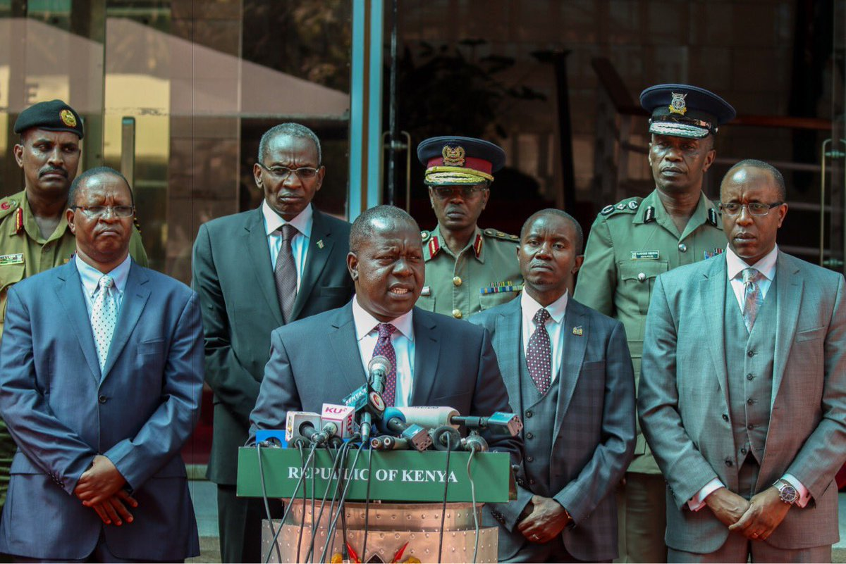 NTV, KTN and Citizen TV to remain off air as investigations continue-Matiang'i