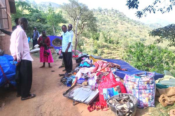 Mysterious  fire injures two people,destroys property in Taita taveta