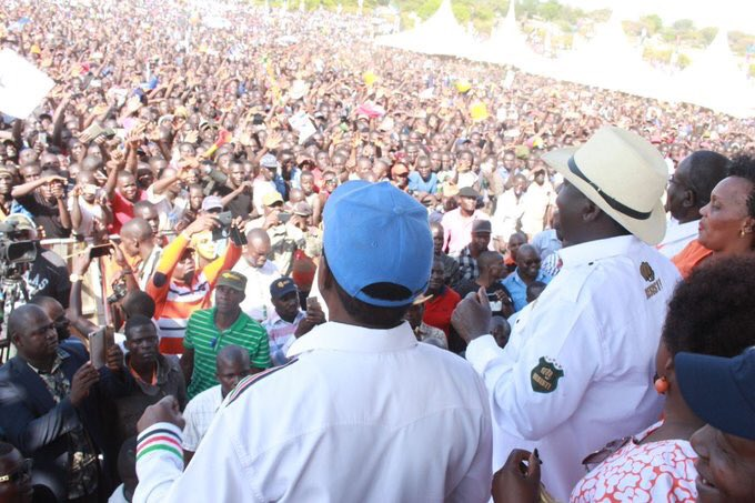 NASA takes people's Assembly meeting in homabay county, insists swearing in to go on