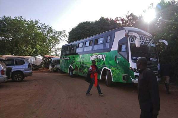 Buses ferrying NASA supporters from Mombasa for Odinga's swearing in impounded