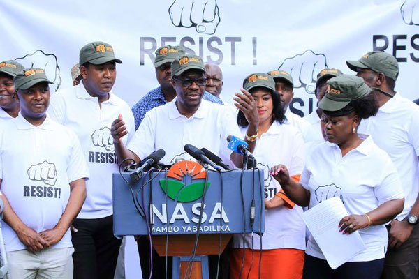 NRM is a criminal group,Interior CS Fred Matiangi now declares