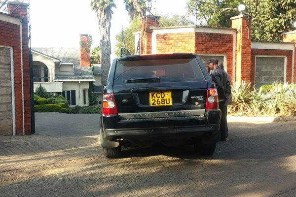 It was all meant for  intimidation,Wetangula says of an attack at Kalonzo's home