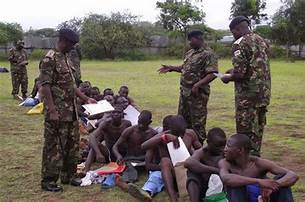 Low turn out marks the first day of KDF recruitment exercise