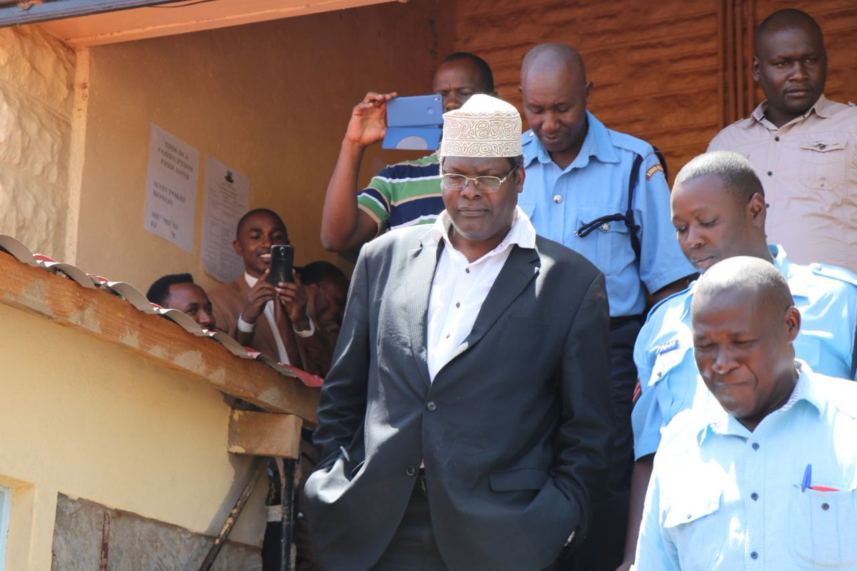 Lawyer Miguna charged in a Kajiado court, refuses to  plead to charges