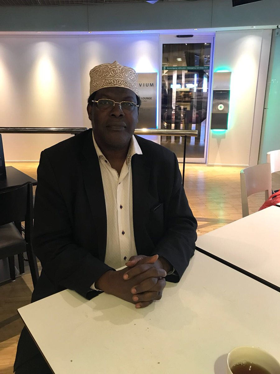 Miguna Miguna  speaks from  Schiphol Airport Amsterdam,says he is fine and will be back soon