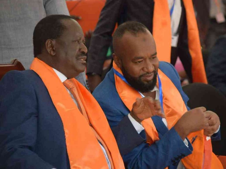 NASA is united, the isolated squabbles witnessed  a mare reflective of Sibling rivalry-Odinga