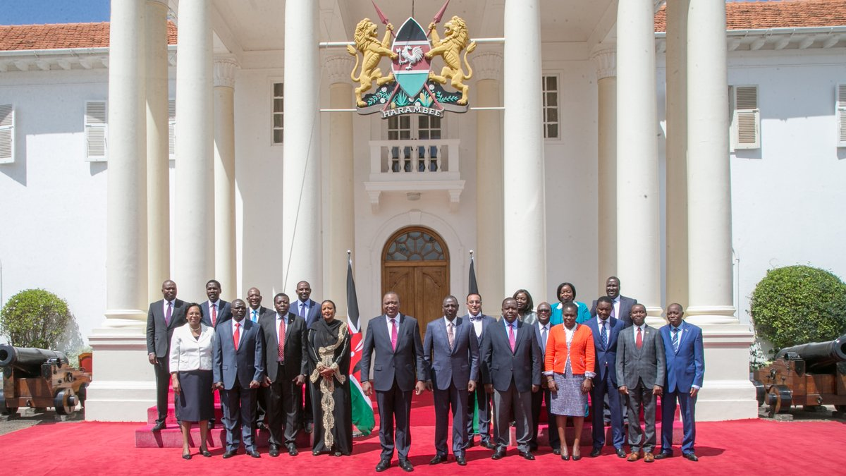 New cabinet secretaries officially  assume office  after been sworn in