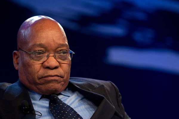 S. Africa's Zuma says efforts to oust him 'very unfair'