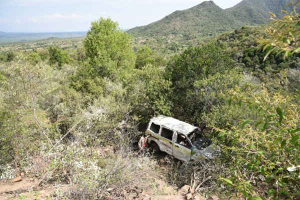 Five people perish ,7 others injured in an accident along Eldama Ravine-Kabarnet road
