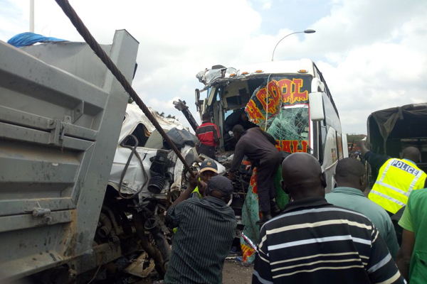 One person dies in Pangani accident while one more sustains serious injuries in Yatta