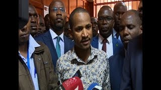 Babu Owino ,Jaguar apologizes for having fought in parliament