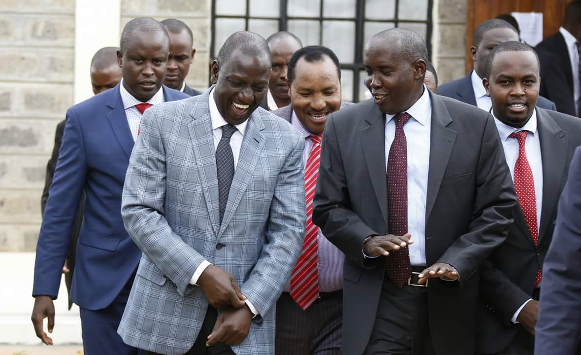 Be sincere and state your intention on unity agreement,Jubilee leaders tell Odinga