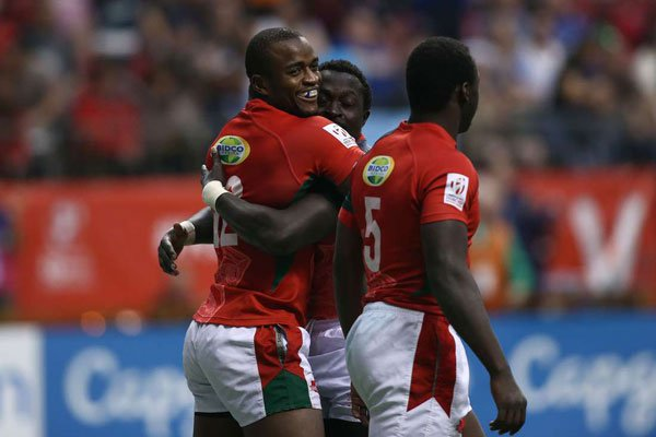 Kenya finishes second,wins silver at World Rugby Sevens in Canada
