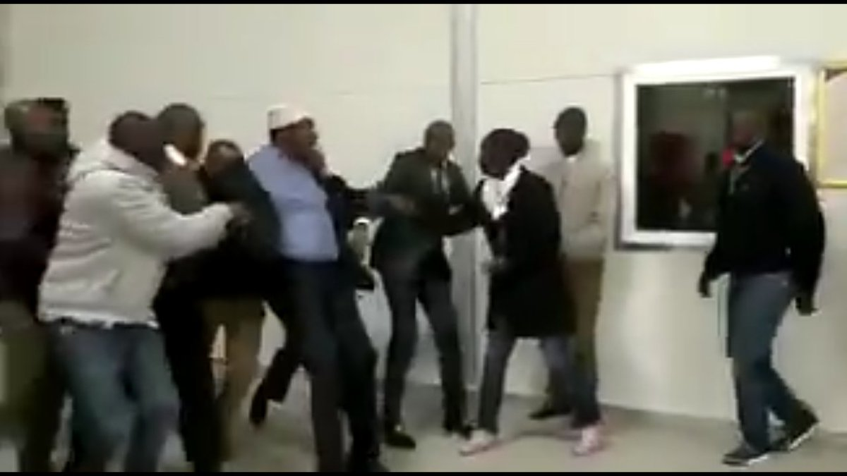 Miguna Miguna still held at JKIA over 12 hours after he arrived from Canada