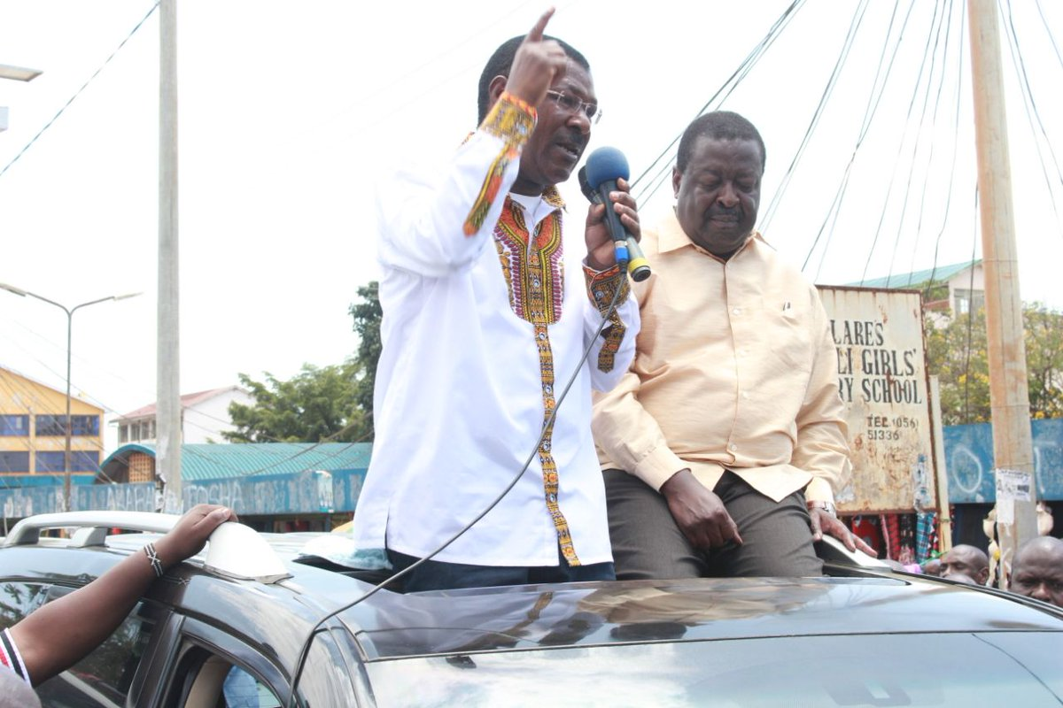 Wetangula and Mudavadi say Raila  should be ready to forget support from western region