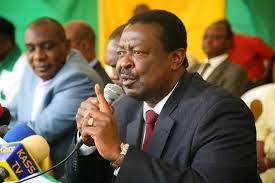 You are on your own  and not anymore NASA leader,Mudavadi now tells Odinga.