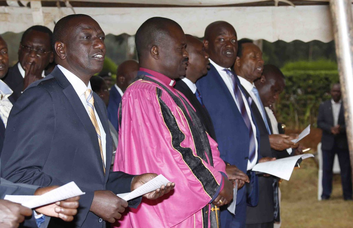 Time for politicking is long gone,let us talk development-DP Ruto