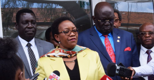 Jubilee party saves Health CS Sicily Kariuki from  possible impeachment