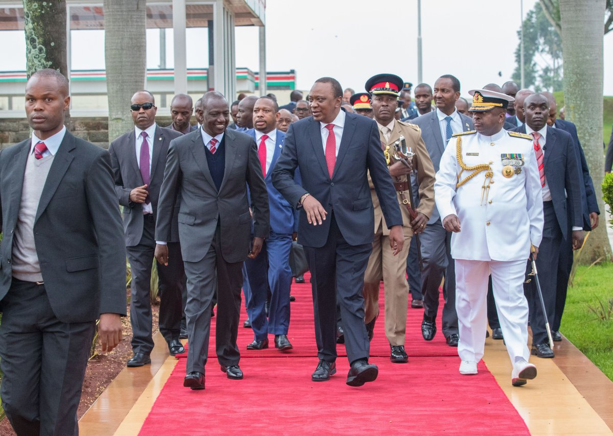 President Kenyatta back in the country  after State visit to Cuba