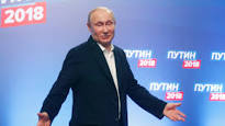 Russia election: Muted Western reaction to Putin victory