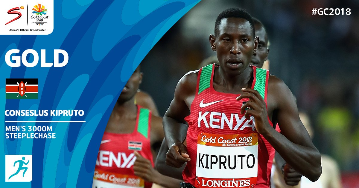Kenya sweeps 1-2-3 in yet another major athletics victory in Gold coast