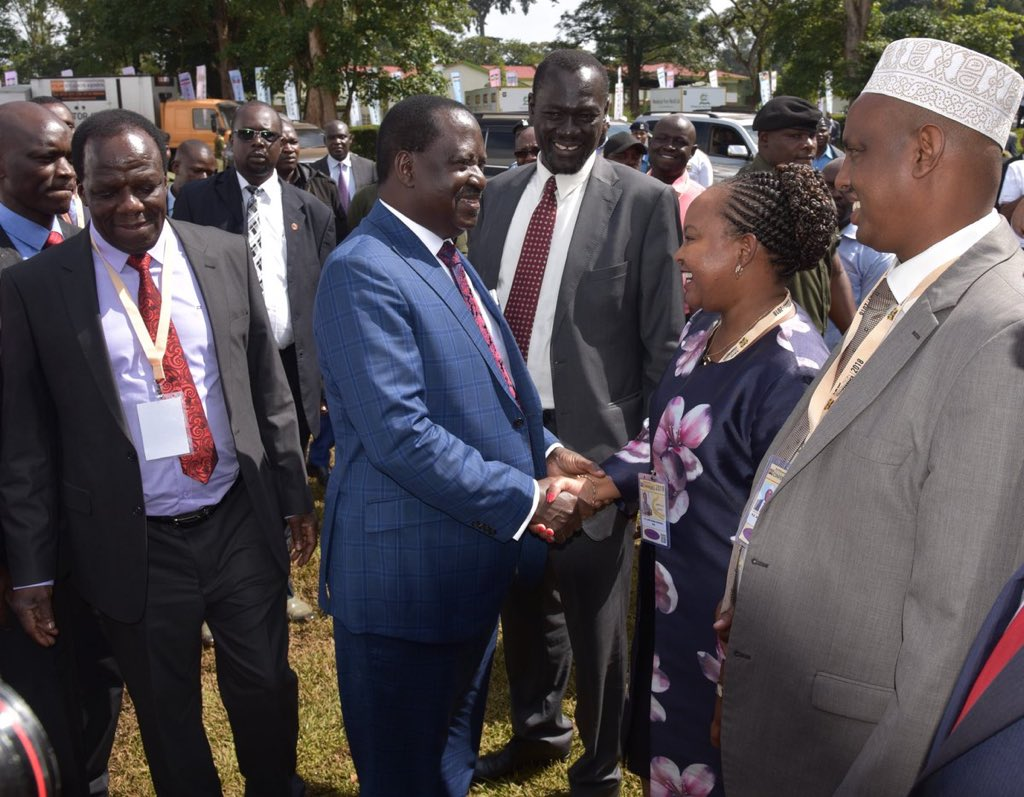 Odinga roots for  3-tier system of government