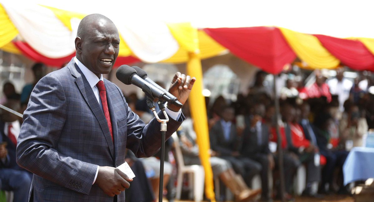 Pay development fee at your own peril,DP Ruto tells parents
