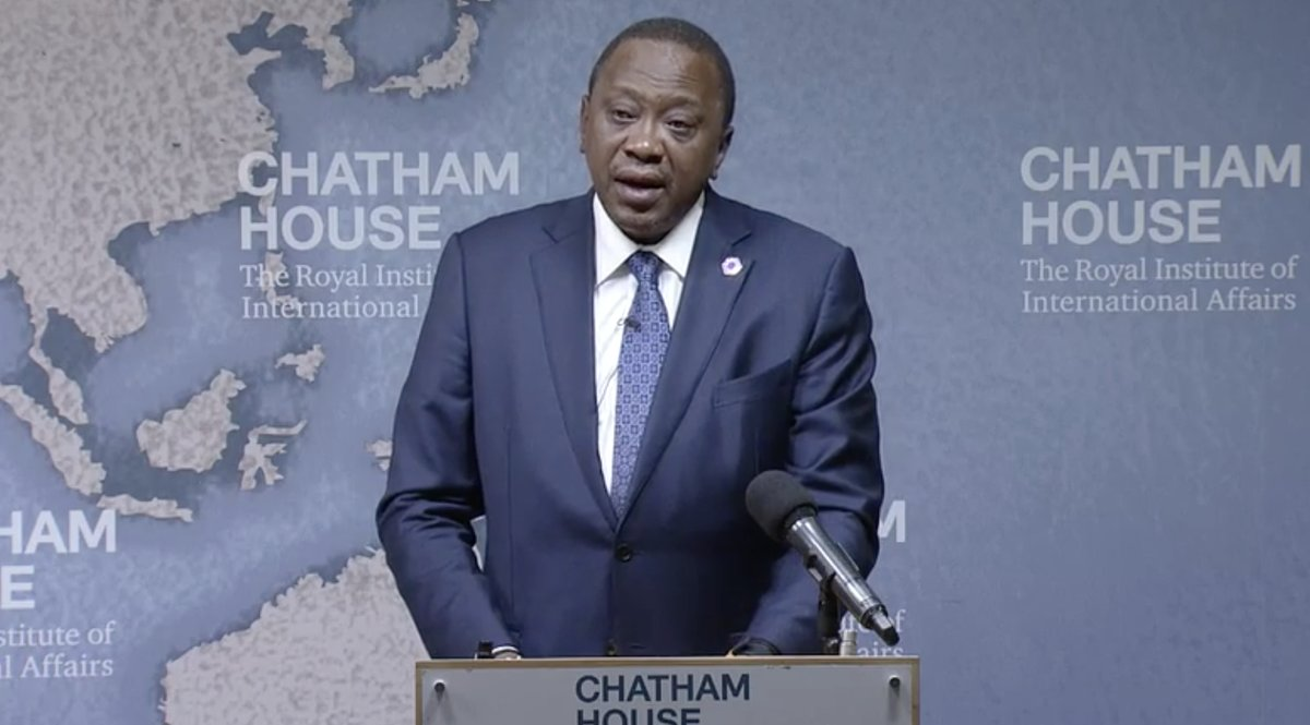 Your investments are safe with us,president Kenyatta assures London investors