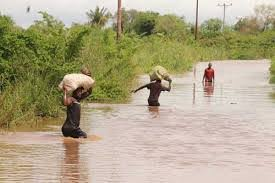 over 3000 residents of Lamu rendred homeless after their homes were swept away by floods