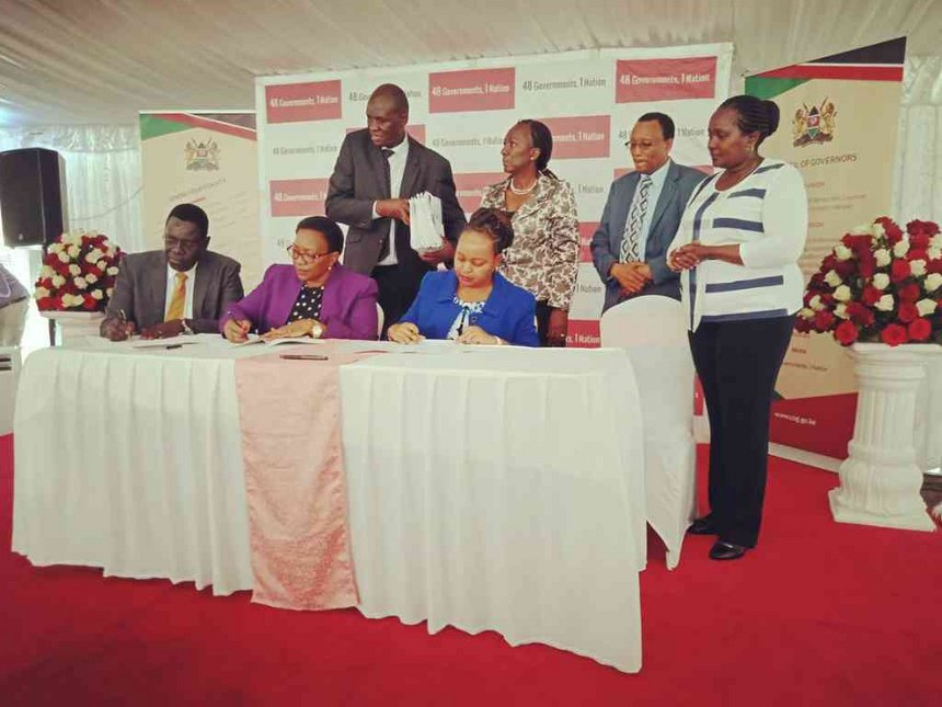 100 cuban doctors to finally arrive in the county as Health ministry, Governors sign MoU