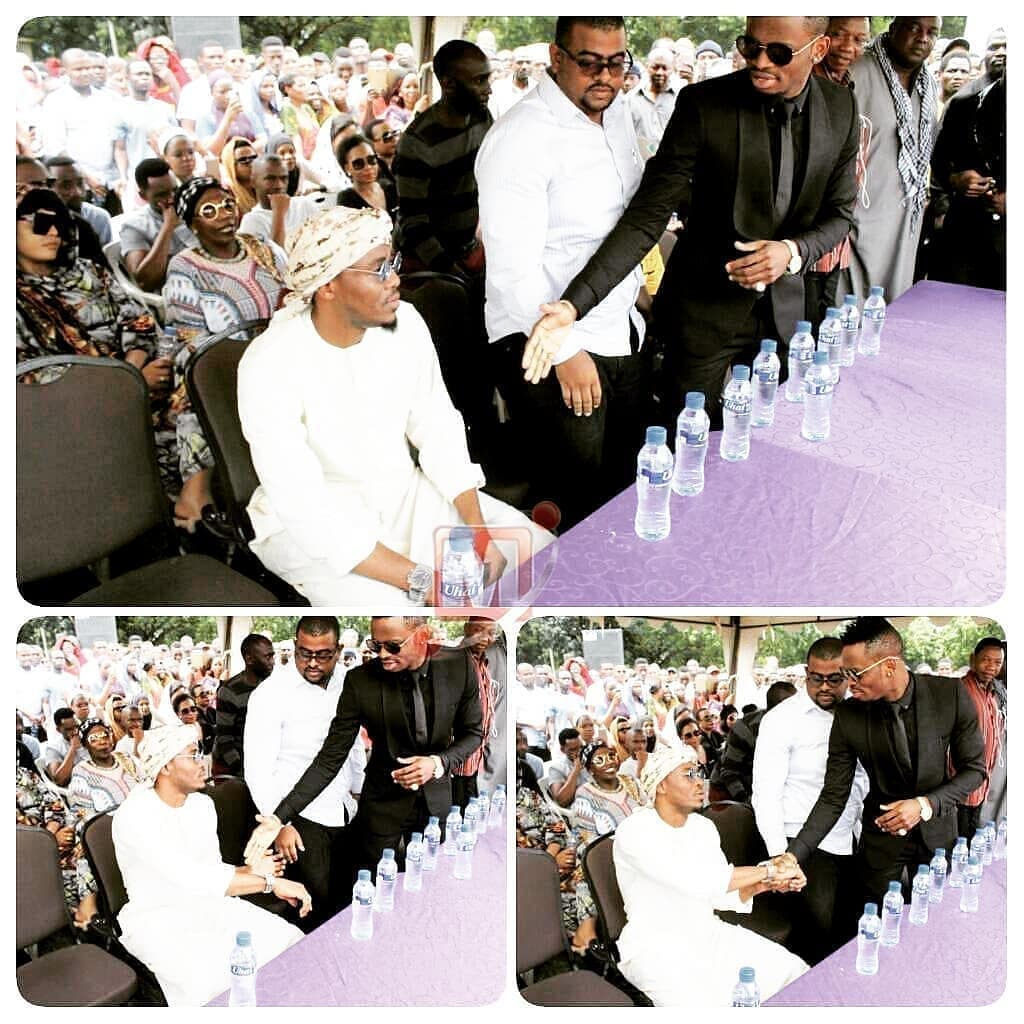 Alikiba sets  records straight concerning  the controversial handshake with Diamond Platnumz at Agnes Masogange's burial