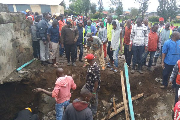 Lucky to be alive: Six pupils at Kisulisuli school escape death after  pit latrine collapses
