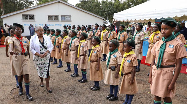 First Lady roots for increased support for SOS Children's villages