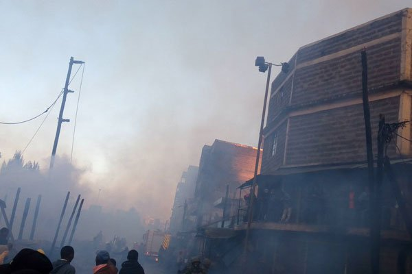 15 die in Yet another fire in incidence at Gikomba market