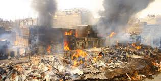 Those who lost their life following Gikomba market Fire now hits 16 after child succumbs to injuries