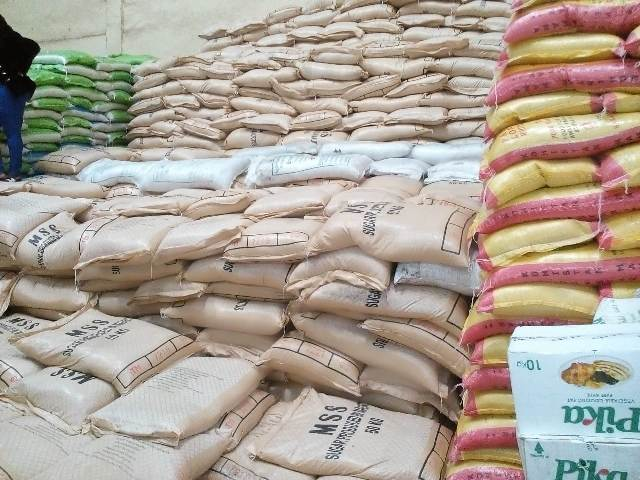 A nother consignment of contraband sugar seized in Machakos